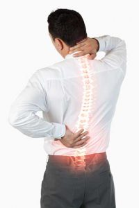 Axial back pain