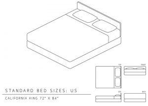 california king size mattress
