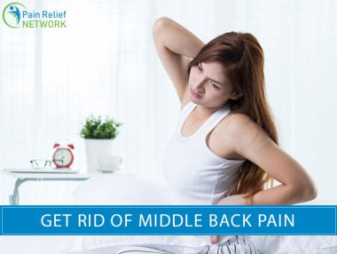 Get Rid of Middle Back Pain