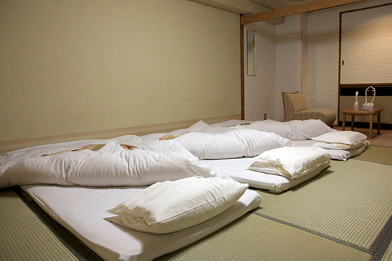 Japanese-style futon sizes