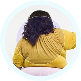 heavier person