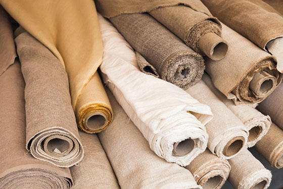 linen is naturally hypoallergenic