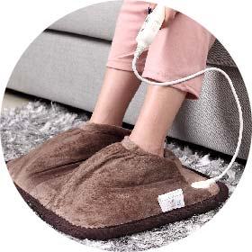 Foot heating pads