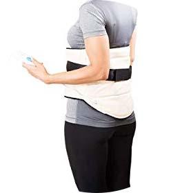 Lumbar heating pads