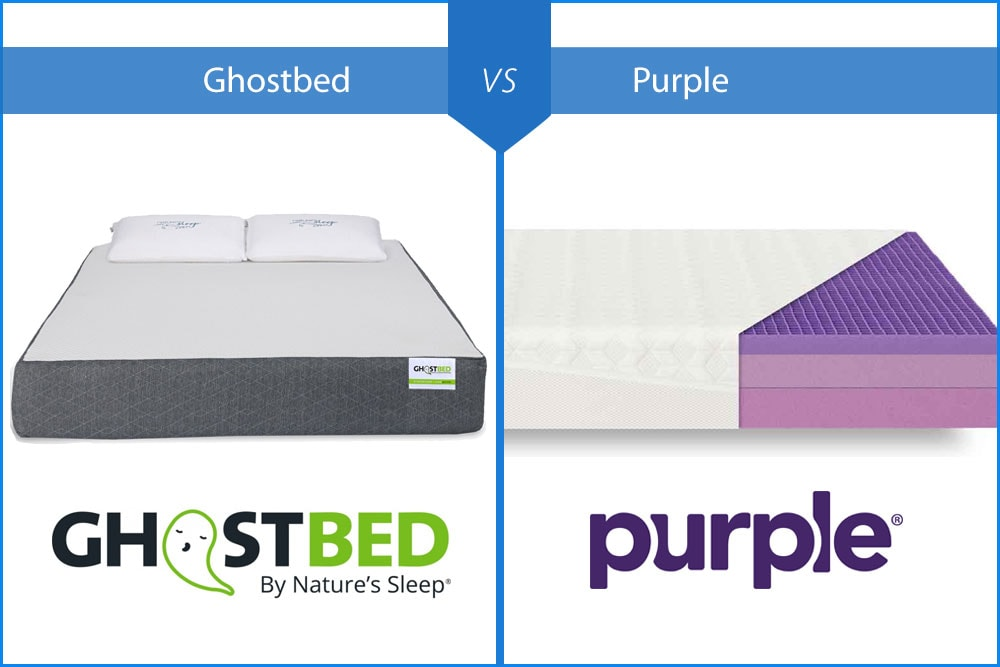 ghostbed vs purple