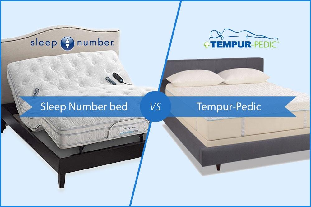 sleep number bed vs tempurpedic