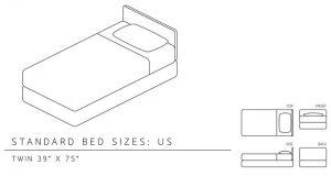 twin size mattress